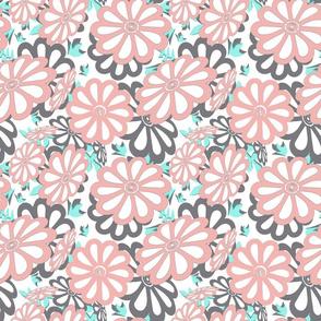 daisies cutouts2 sm dusty apricot dk gray