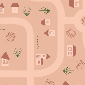Roads and Tiny Houses