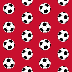 liverpool football fabric - red