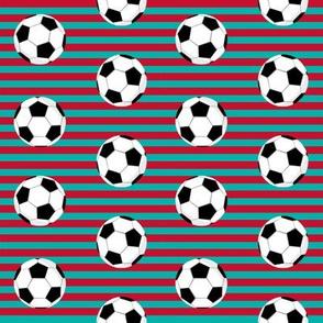 liverpool football fabric - stripes