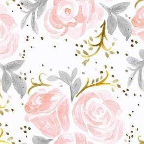 Sparkling Rose flora pink