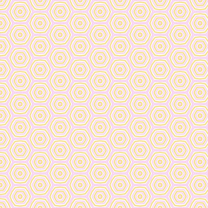 Pastel Hexagons