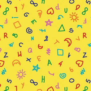 happy things yellow