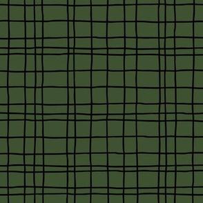 Abstract geometric stripes and stroked hand drawn grid design minimal Scandinavian boho trend nursery cameo green black
