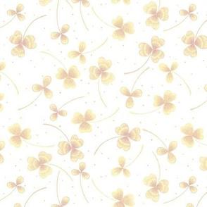 clover small white yellow light