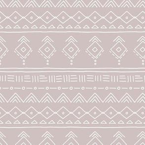 Minimal boho mudcloth bohemian ethnic abstract indian summer aztec design nursery gender neutral beige SMALL