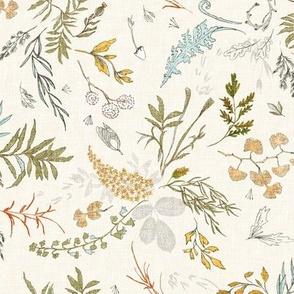 Foliage (cream gold) MED