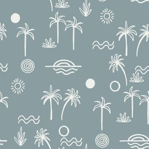 summer sun fabric  slate sfx4408