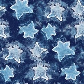Denim Stars Tie Dye