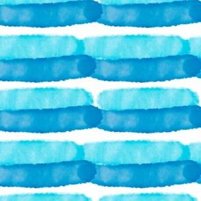 Watercolor hand drawn  nautical seamless pattern