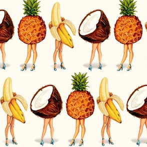 Tropical Fruit Girls