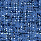 mid century blue tweedy textures