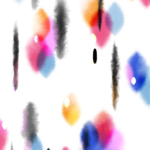 Tie-Dye Wind Chimes by Friztin