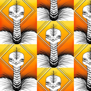 Ostrich vibe numeric