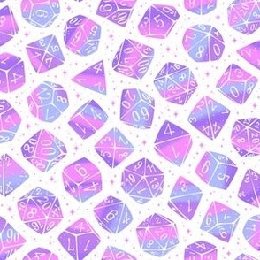 Roll the Dice in Pastel