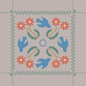 Paper Cutout Napkin
