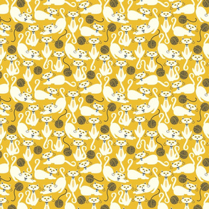 Cats Yellow