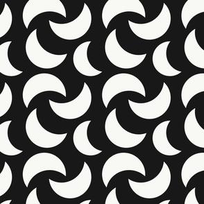 Crescent | Black + White
