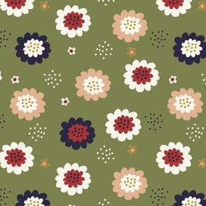 Enchanted Floral-Moss