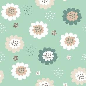 Enchanted Floral-Pastel Sage