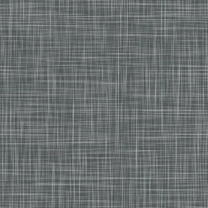 Linen Solid - Slate (Couched Diamonds)
