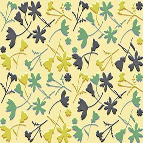 paper cutout garden