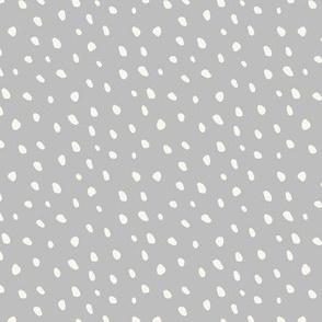 White Beans on Stone Grey