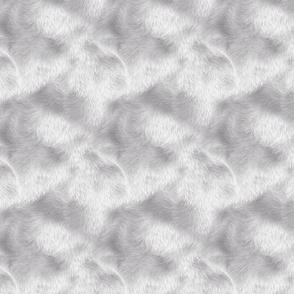 Silver Funky Fur
