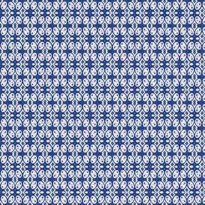 Indonesian Batik12 blue