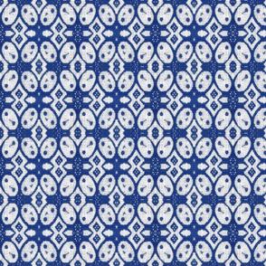 Indonesian Batik25 blue