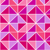 Triangulate in Pink Berry