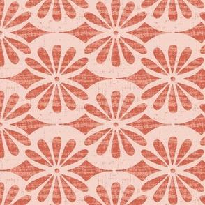Solstice - Boho Geometric Blush Pink Regular Scale
