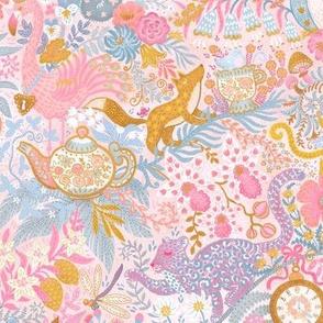 """Tea Time at Wonderland (limited pastels) 10"""""""