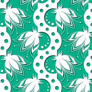 Flores Chartam (emerald)