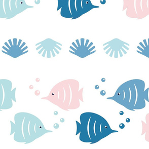 Fish nursery pattern