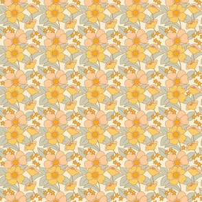 70s Floral Sunshine - PLUS-  Reduced