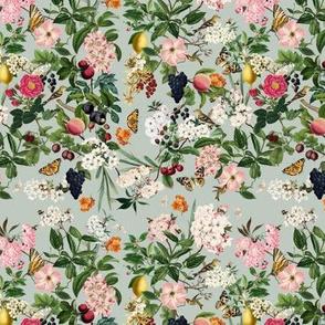 Summer Orchard, Green Grey // small