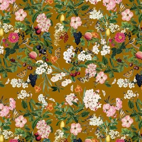 Summer Orchard, Toffee // small