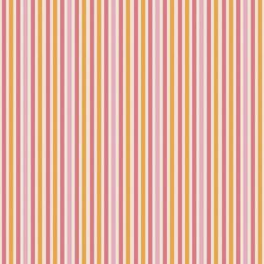 carnival stripes on cream small