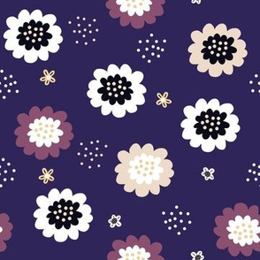 Enchanted Floral-Violet