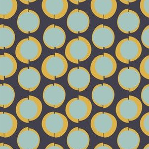 Lucille | Indigo-Mint-Yellow