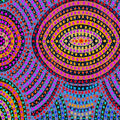 Paperpunch Dots - Tribal Tattoo