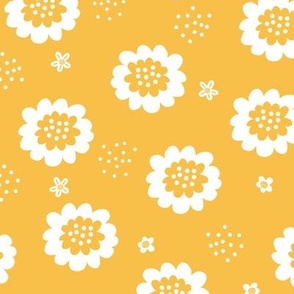 Enchanted Floral - Yellow