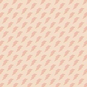 Tiny Pink Lightning Bolts