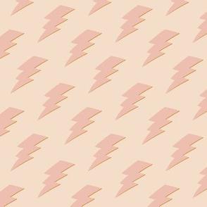 Pink Lightning Bolt
