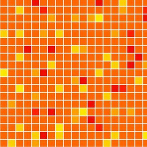 Orange Mosaic