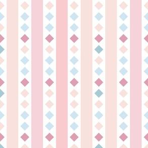 Geometrical stripes pattern