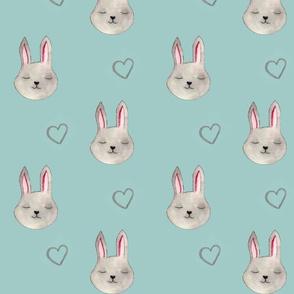 Adorable bunny pattern rabbit cute pet