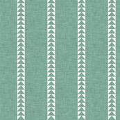 Arrow Stripe in Sage