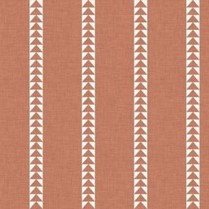 Arrow Stripe in Cinnamon
